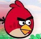 Voar com Angry Birds