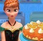 Anna Frozen bolo de laranja