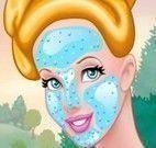 Princesa Cinderela no spa