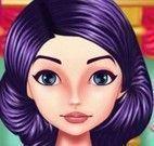 Limpeza facial da princesa e maquiagem