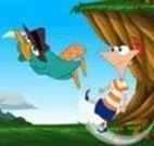 Phineas e Ferb chute do bolo