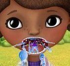 Doutora Brinquedos dor de garganta