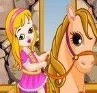 Banho no cavalo