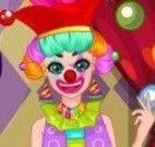 Vestir palhaça do circo