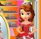 Princesa Sofia compras para Natal