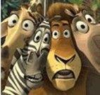 Pintar a turma do Madagascar 3