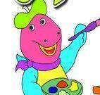 Pintar bebê Dino