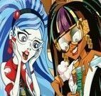Vestir Cleo e Ghoulia