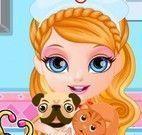 Barbie bebê pet shop