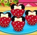 Minnie fazer cupcakes