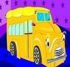 Decorar ônibus escolar da Dora