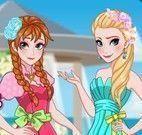 Anna e Elsa madrinha de casamento