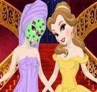 Limpeza de pele na princesa Bela