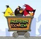 Controlar vagão dos Angry Birds