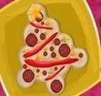 Fazer pizza de Natal