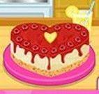 Fazer bolo de framboesa