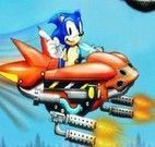 Sonic nave espacial