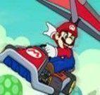 Mario corrida de asa-delta