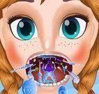 Anna Frozen dor de garganta