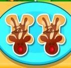 Cozinhar biscoitinhos de goma