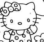 Hello Kitty pintar desenho