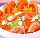 Fazer sopa de tomate