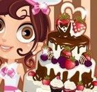 Fazer e confeitar bolo de casamento