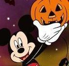 Jogo da memória Halloween Mickey