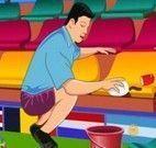 Limpar estádio da Copa do Mundo