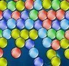 Bolas no fundo do mar