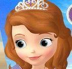Princesa Sofia pintar quadro