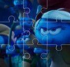 Smurfs quebra cabeça