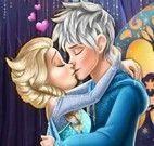 Elsa beijo no Jack