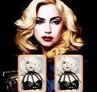 Cartas da memória Lady Gaga celebridade