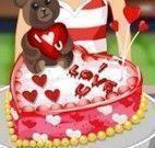 Receita de bolo de coração