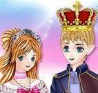 Vestir princesa e príncipe