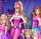 Vestir Barbie Super heroína e irmãs