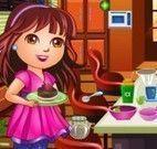 Limpar cozinha no Natal co Dora