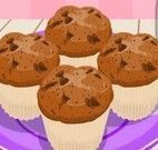 Fazer receita de muffins de chocolate