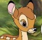 Colorir desenho do Bambi