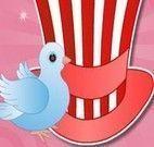 Chapéu mágico dos pássaros