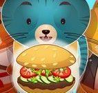Lanchonete de hamburguer