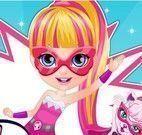 Super Barbie bebê