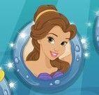 Sereia princesas vestir