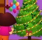 Dora fazer limpeza natalina
