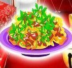 Preparar macarrão para Natal