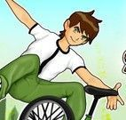 Manobras de bike do Ben 10
