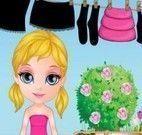 Bebê Barbie lavar roupas
