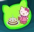 Receita de bolo Hello Kitty