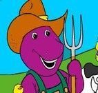 Barney na fazenda
